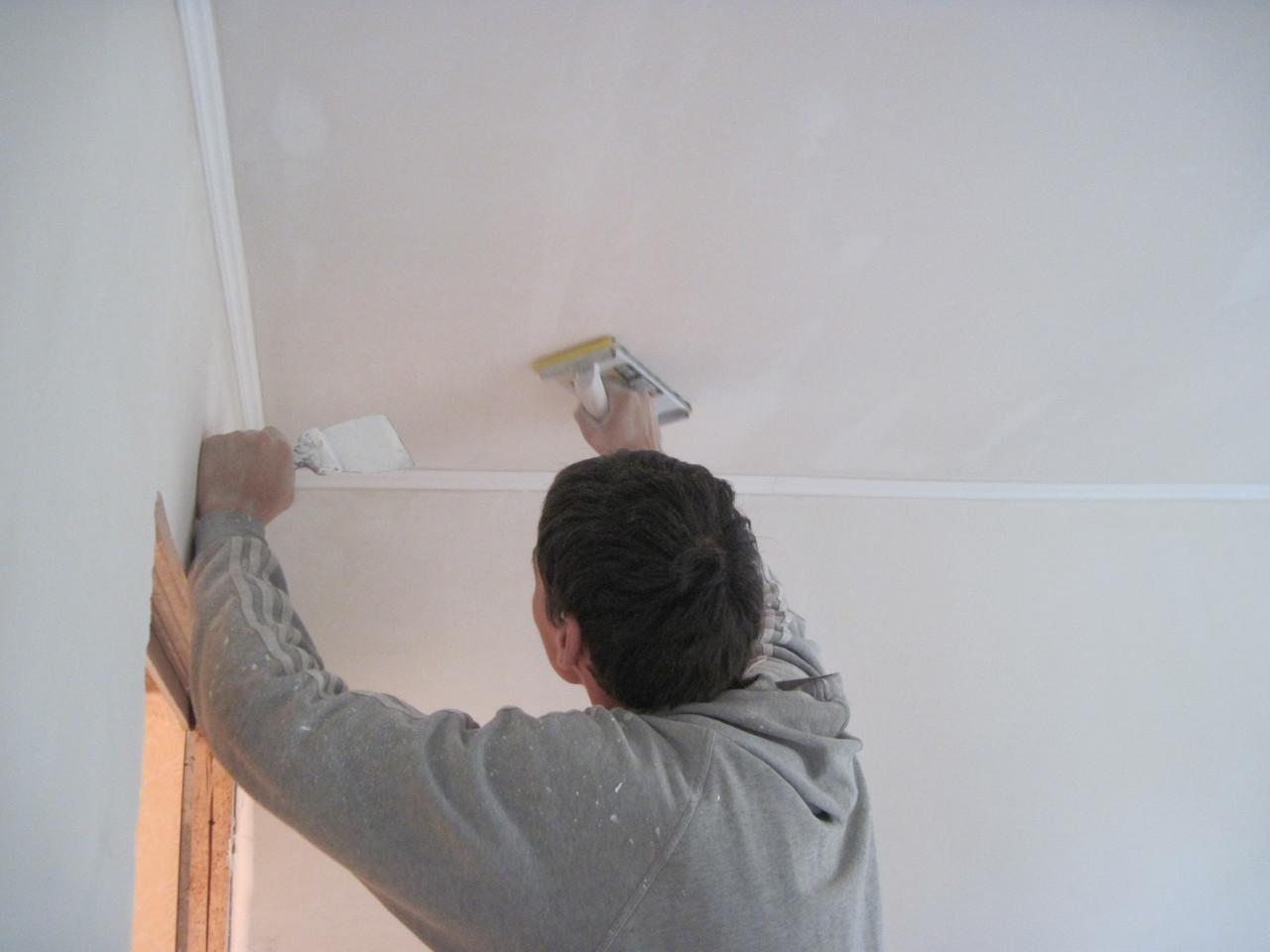 Финишная отделка потолка своими руками 53