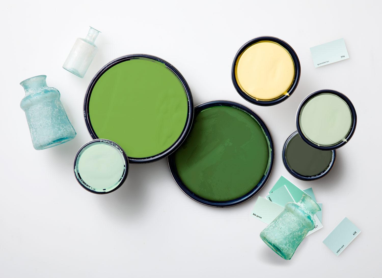Модные зеленые оттенки