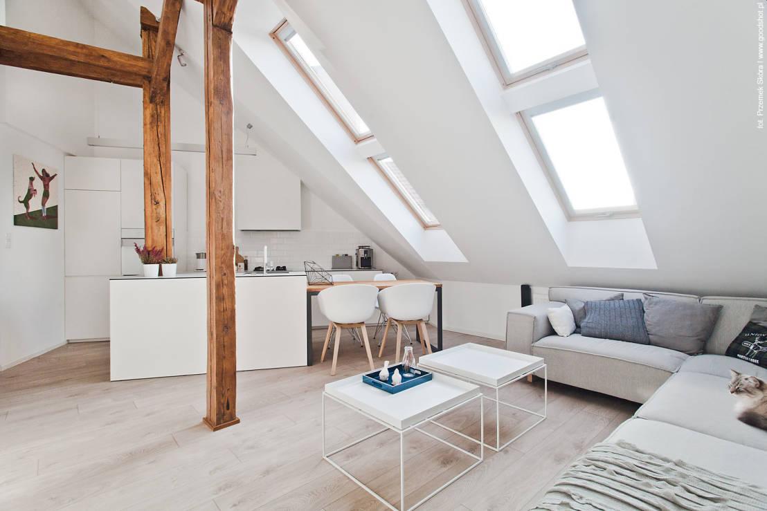 Скандинавский стиль в интерьере наполняет комнату воздухом, светом, легкостью
