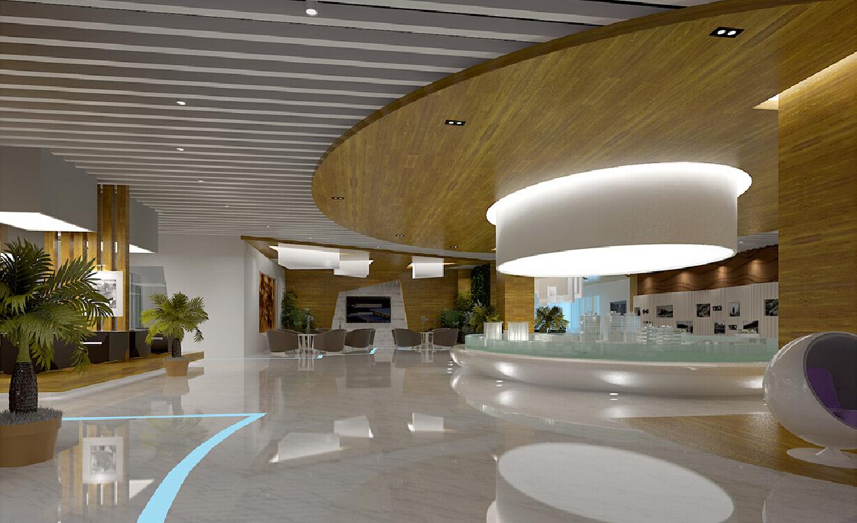 Использование 3D-технологий в организации пространства холла