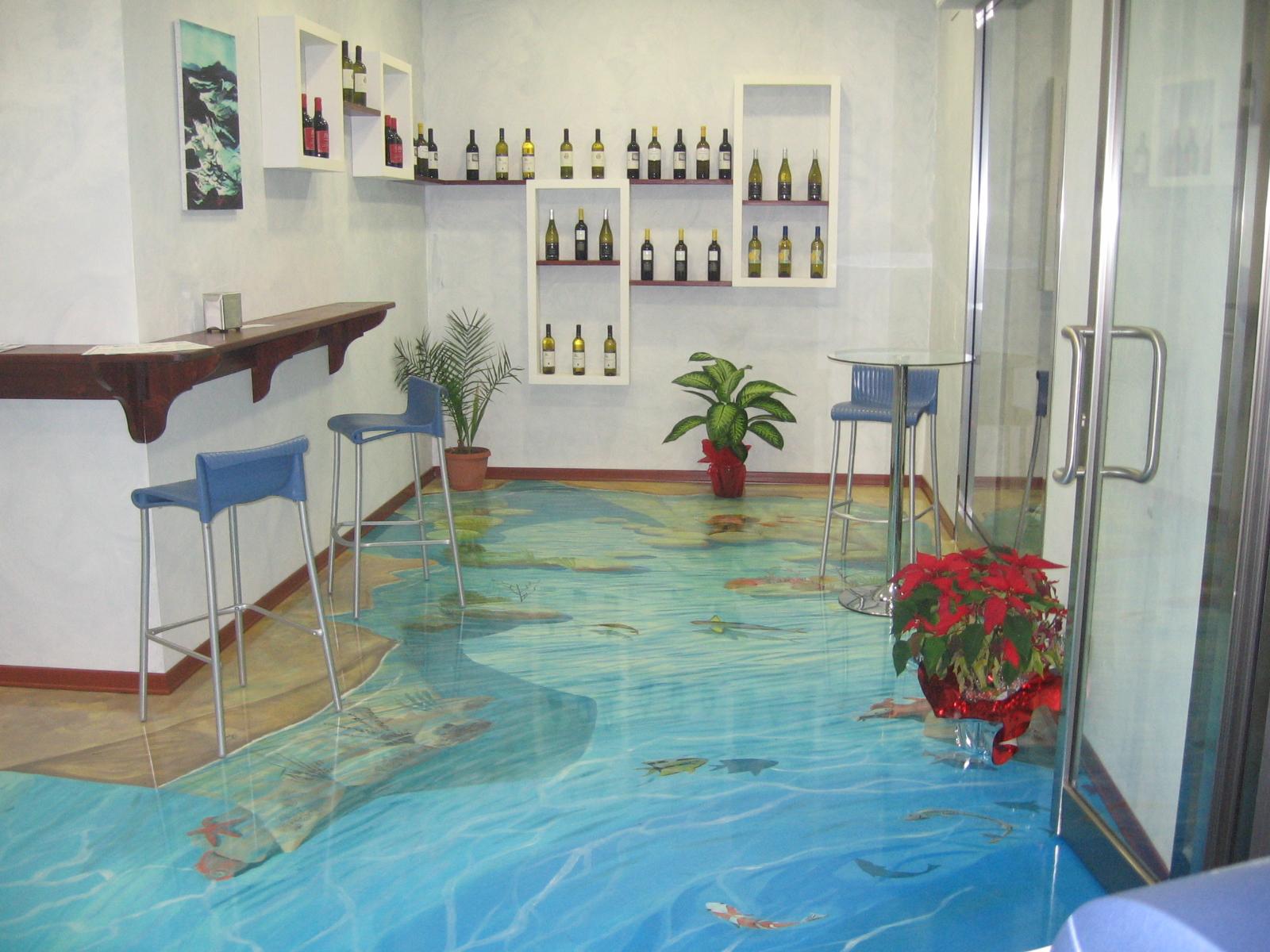 Наливной пол превращает обычную комнату в волшебную