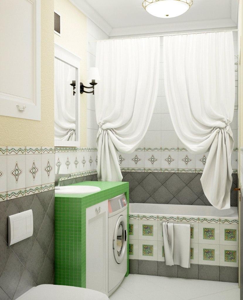 Смежная ванная и санузел в хрущевке