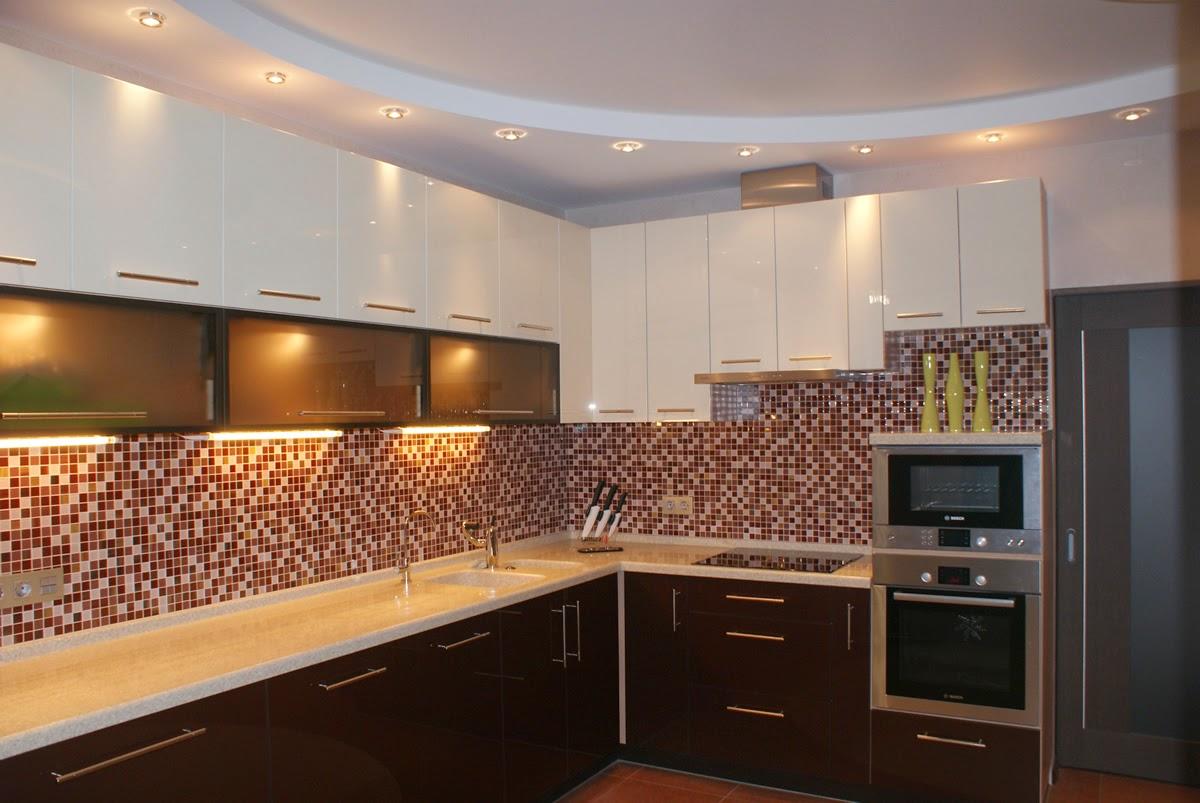 Гипсокартонные конструкции для потолков на кухне