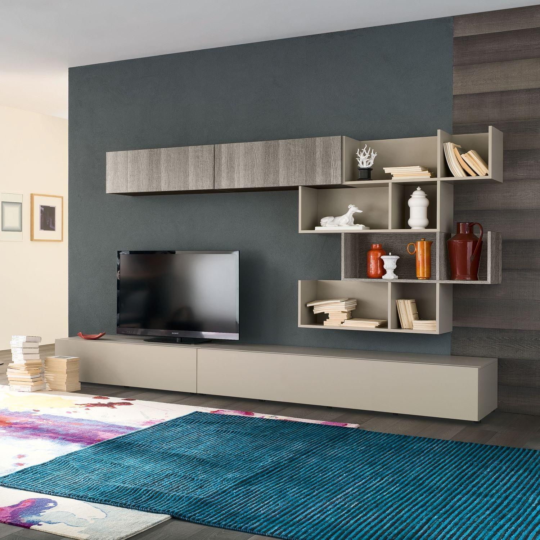 Модульные системы в гостиной - удобно, практично, эстетично