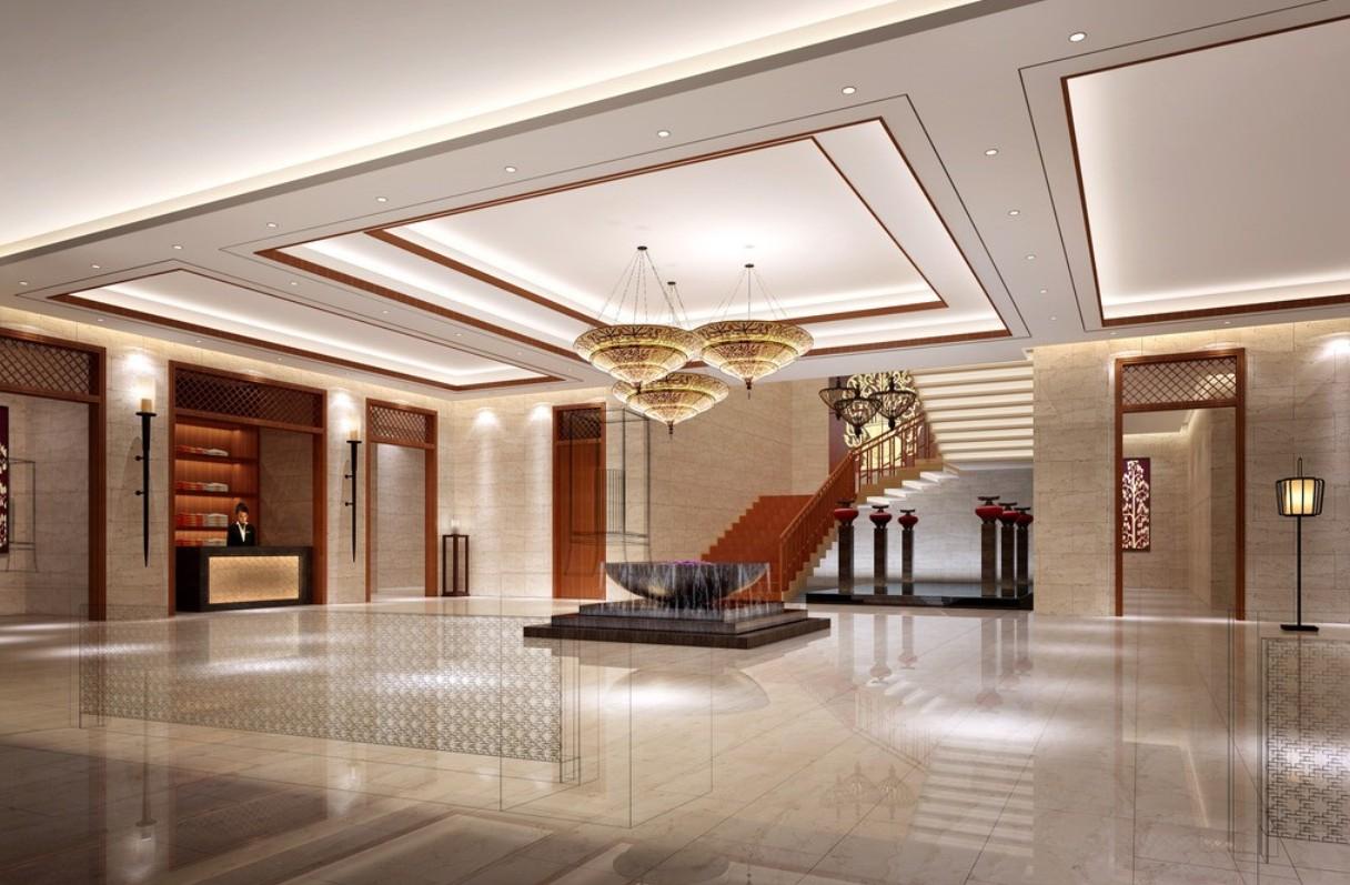 Изумительный дизайн холла