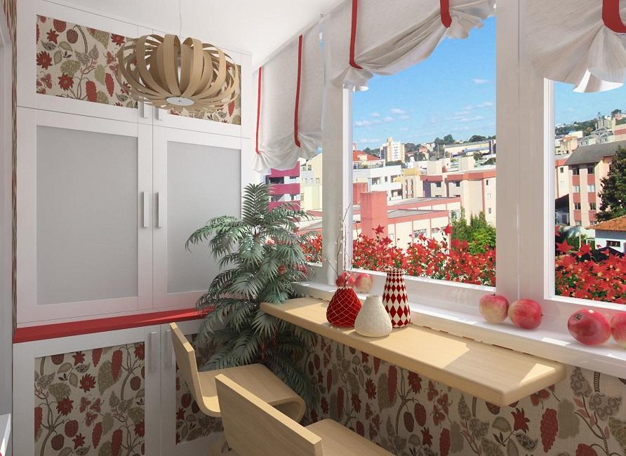 Как красиво оформить балкон или лоджию - обзор самых популяр.