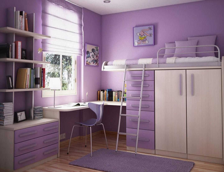 Удачная организация пространства в комнате подростка