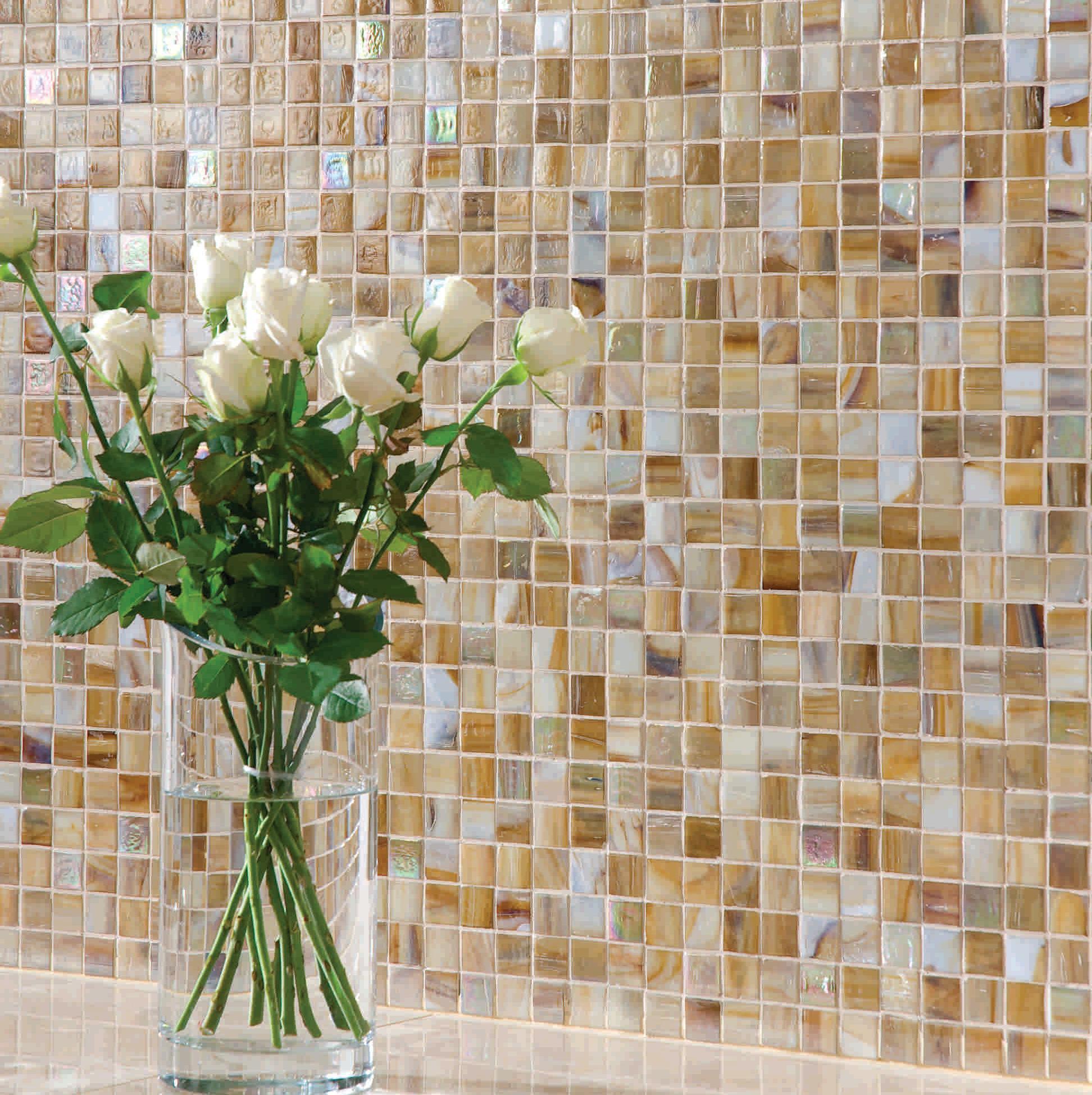 Мозаика - превосходное решение для ванной или кухни