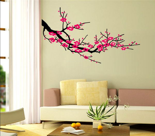 рисунки на стене в квартире своими руками фото