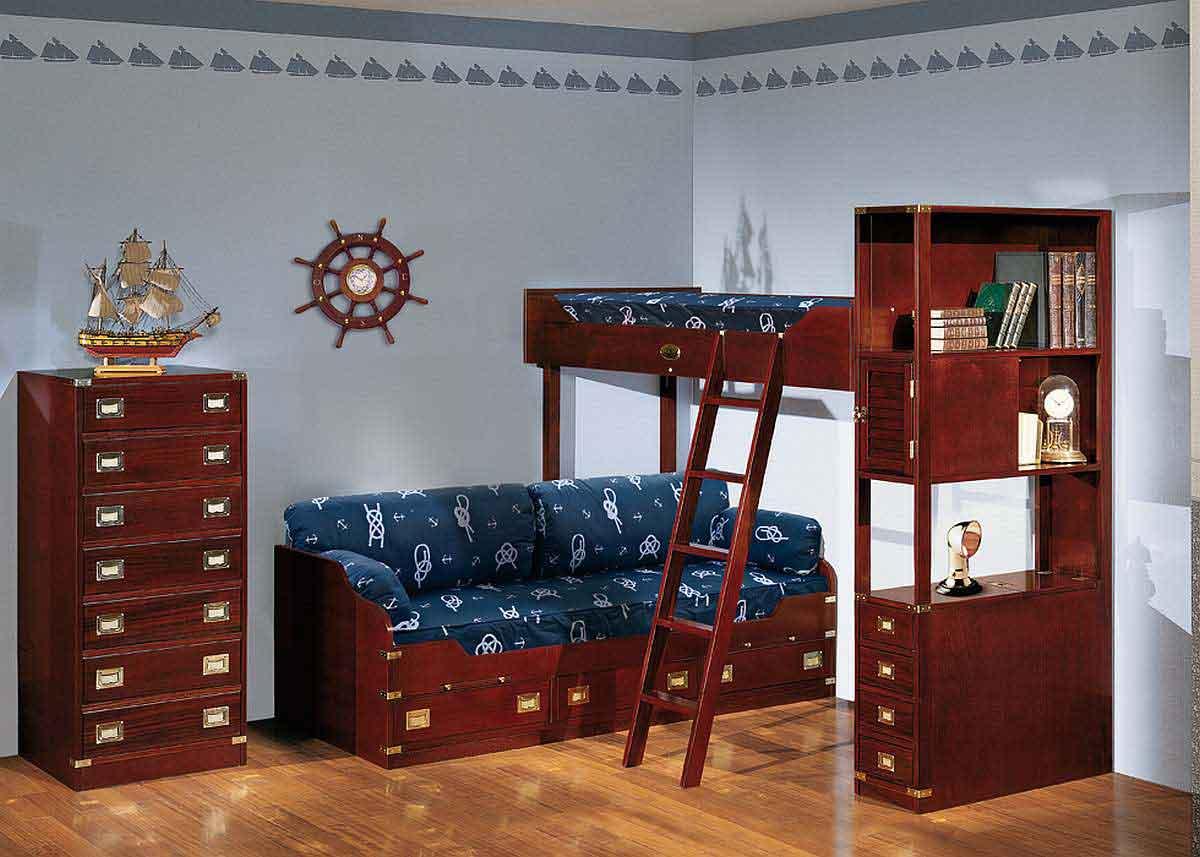 Комната для подростка в классическом стиле