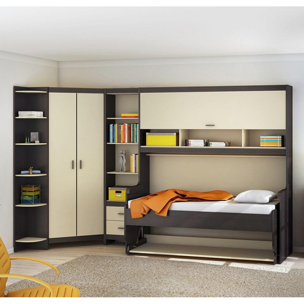 Мебель-трансформер идеально впишется в интерьер и сэкономит место в комнате