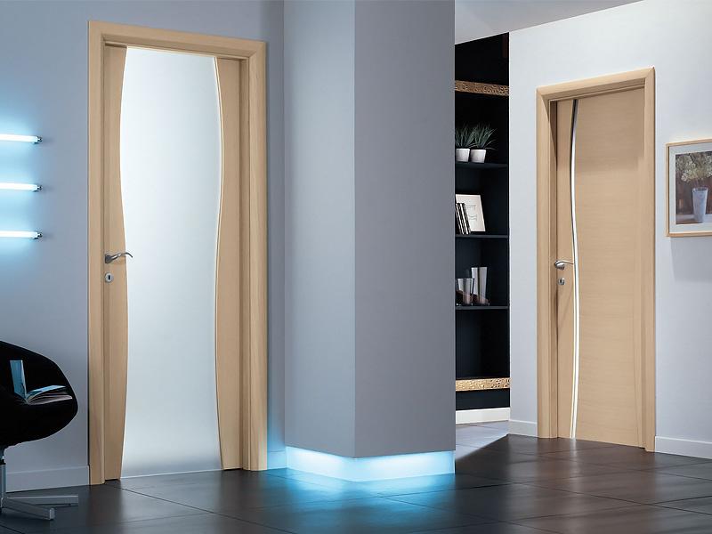дизайн межкомнатных дверей в квартире