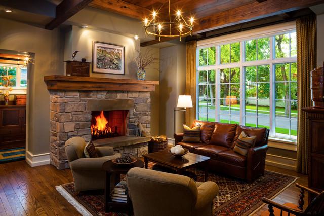 Дизайны гостиной с камином в частном доме фото
