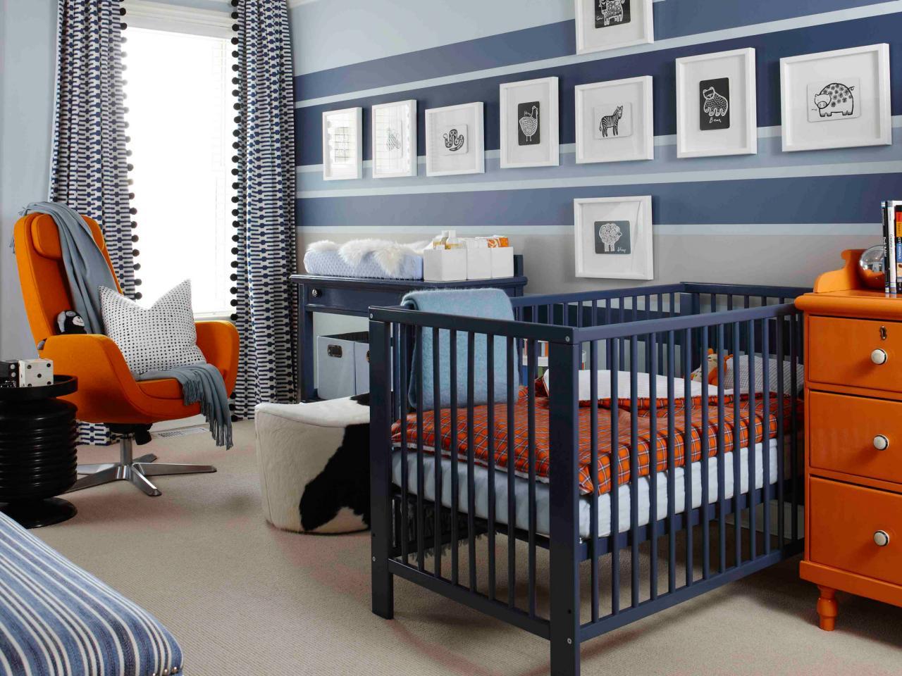 Зонирование комнаты на детскую и спальню