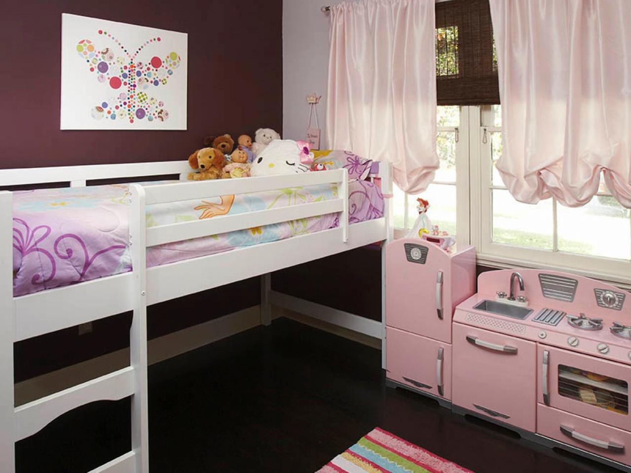 Обустройство детской зоны в спальне