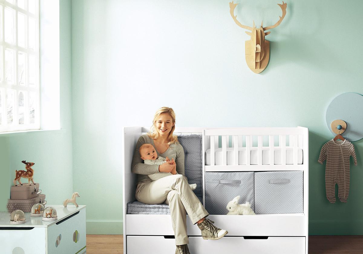 Отделка детской зоны в спальне