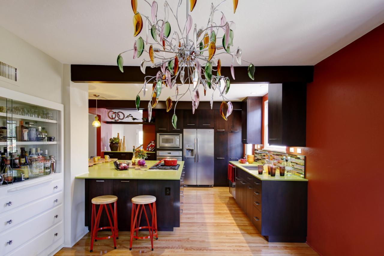 Стиль эклектика для кухни