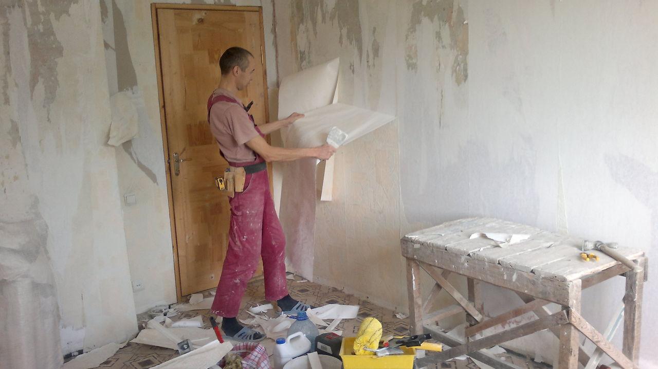 Начало ремонта в жилой квартире