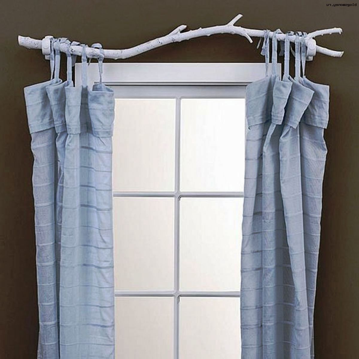 Необычный карниз для штор - украшение окна