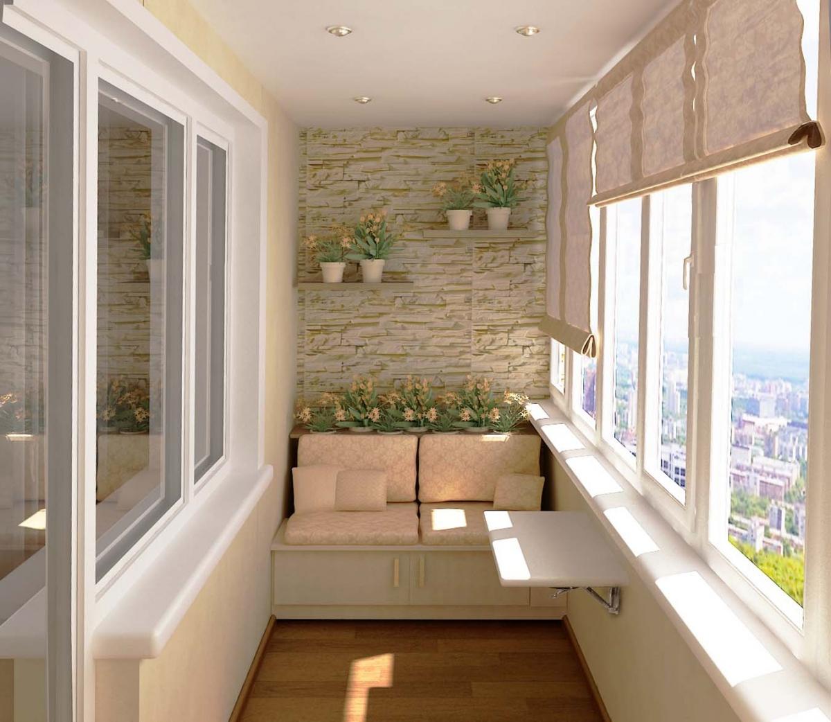 Дизайн балконов и лоджий фото