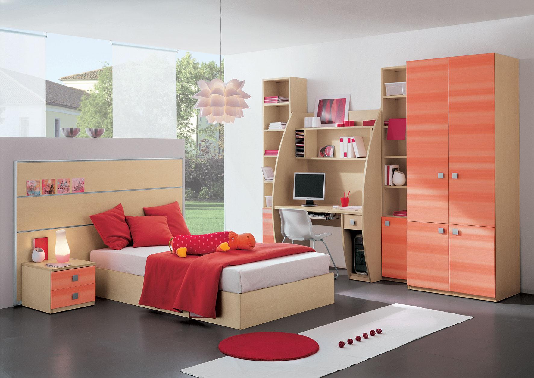 Вариант оформления комнаты девочки