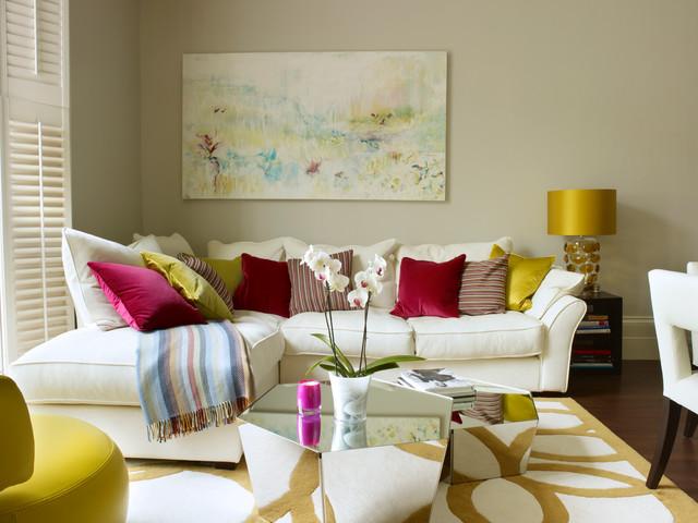 Элементы декора в интерьере гостиной фото
