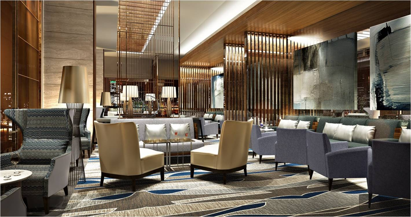 Способы зонирования пространства в холле отеля