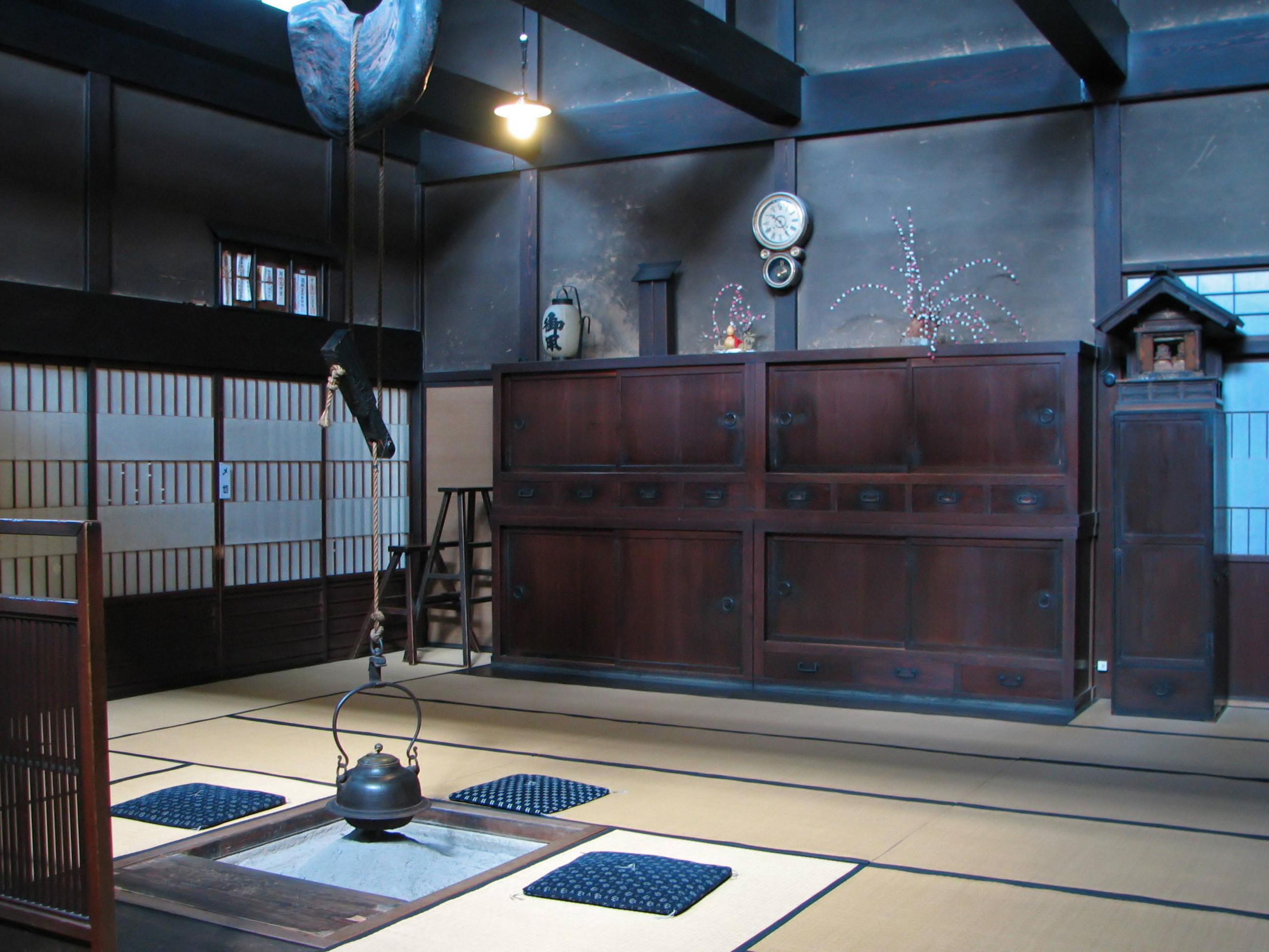 Интерьер кухни в Японии не очень обычен для западного человека