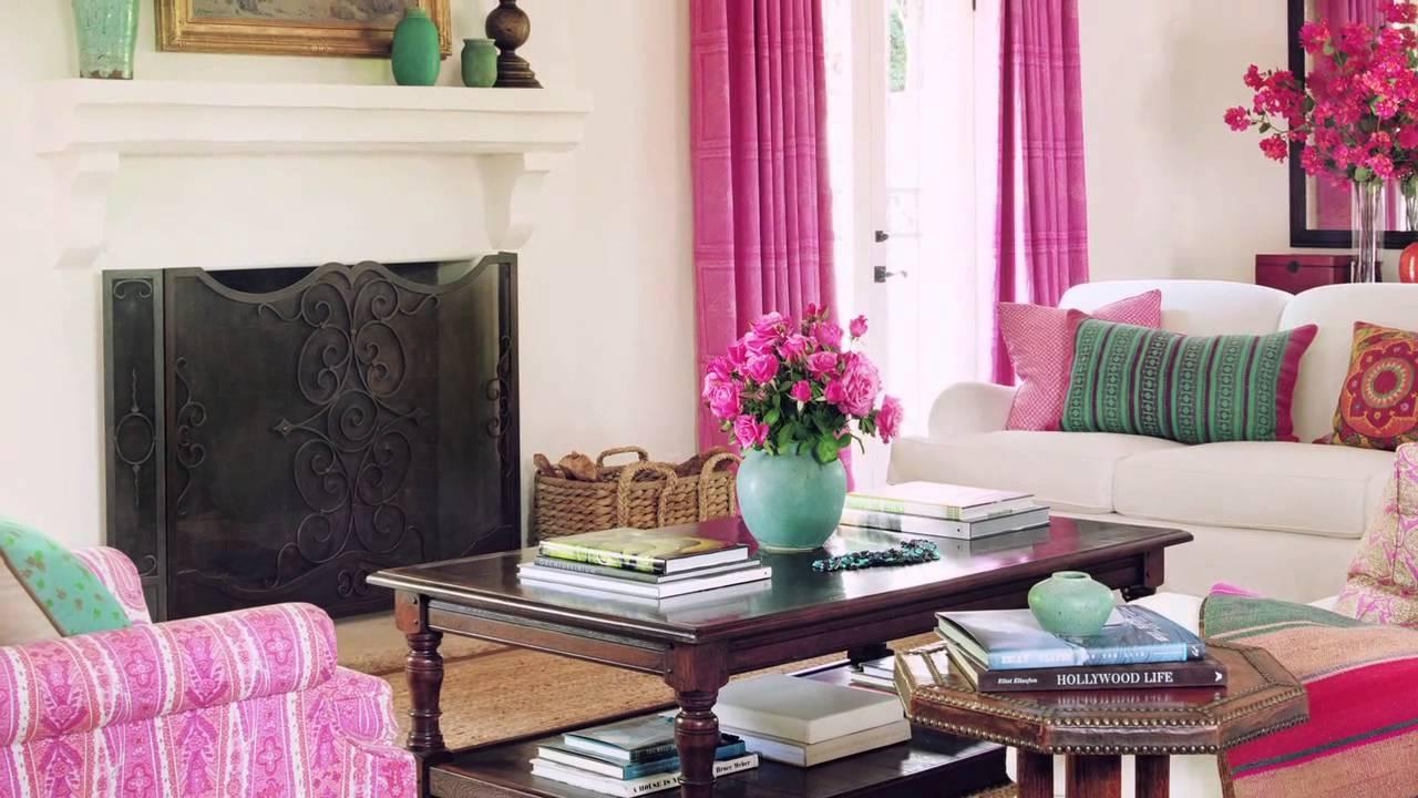 Цветовое оформление интерьера в стиле фьюжн