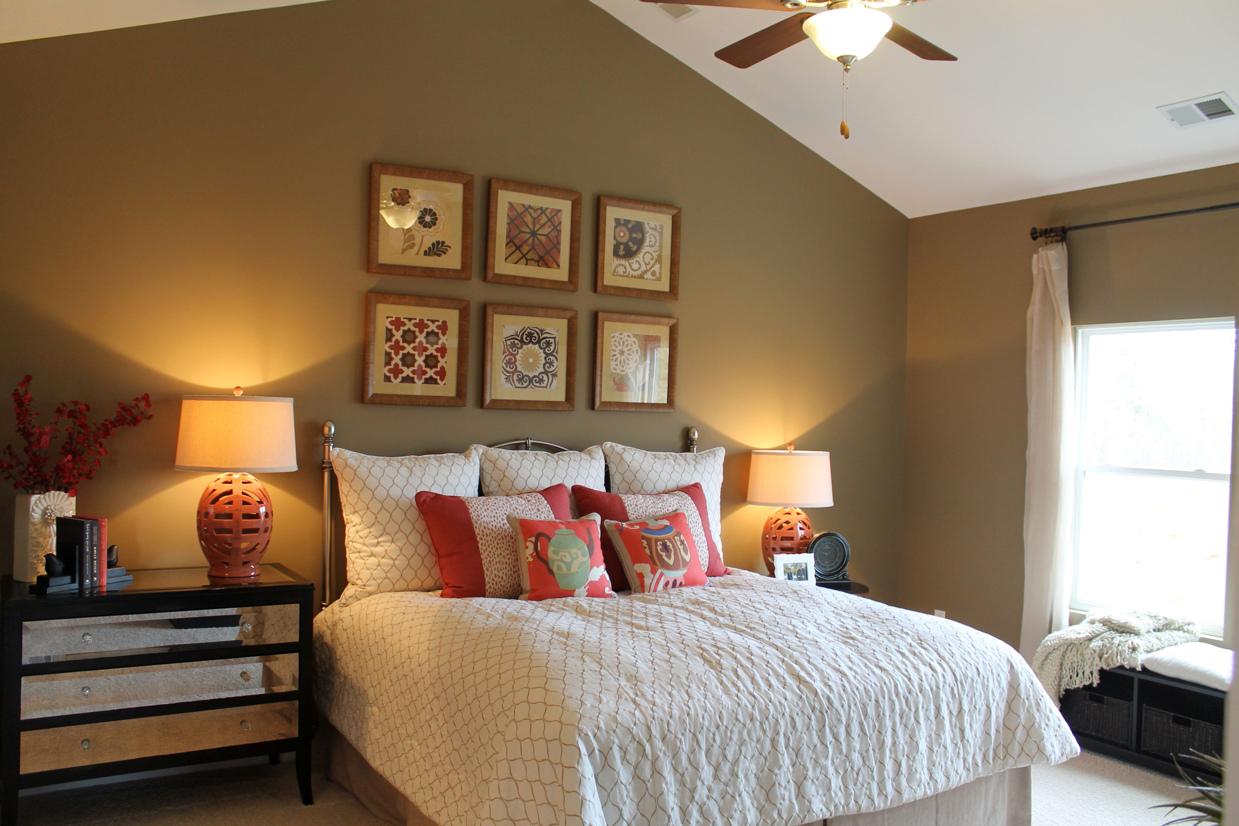 Креативные прикроватные светильники просто необходимы для спальни-модерн