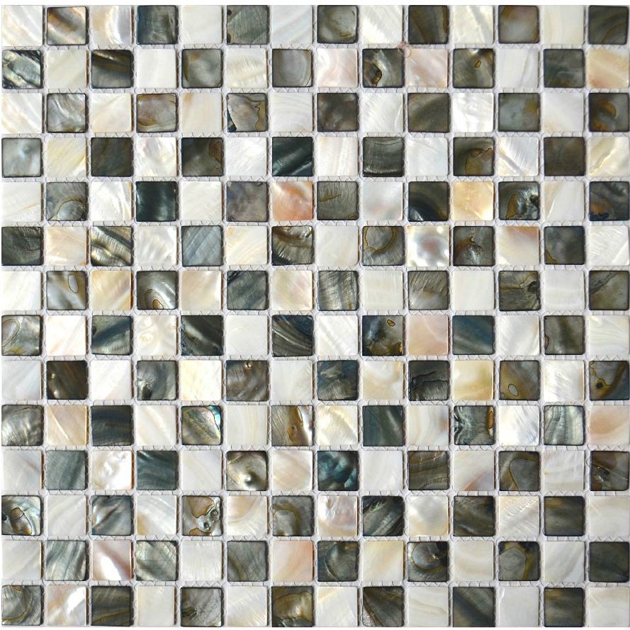 Перламутровая мозаика станет украшением любой стены