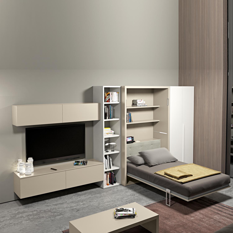 Дизайн гостиной с трансформируемой мебелью