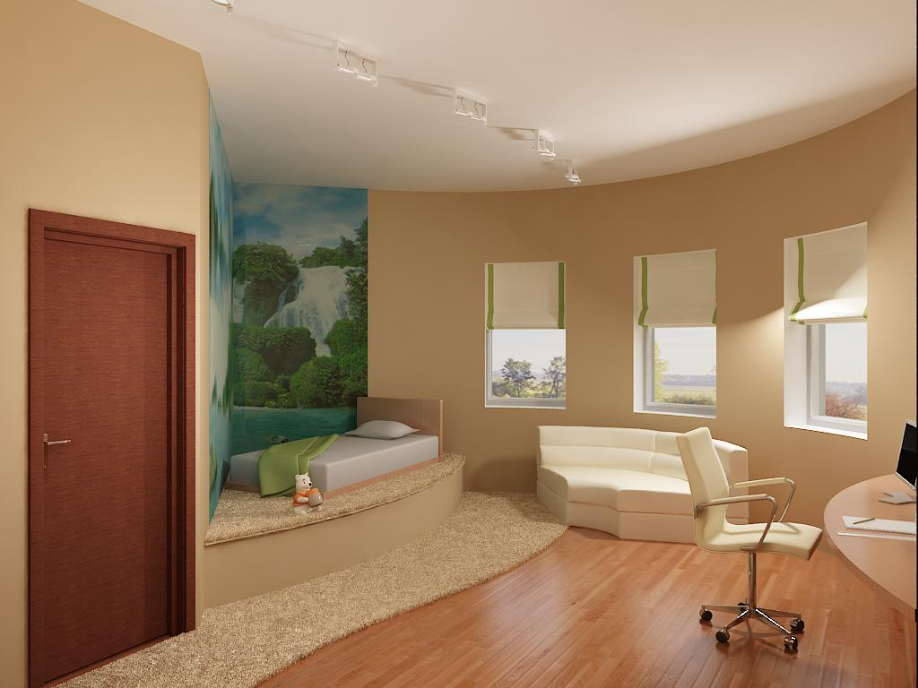 Гармоничная комбинация разных напольных покрытий в комнате
