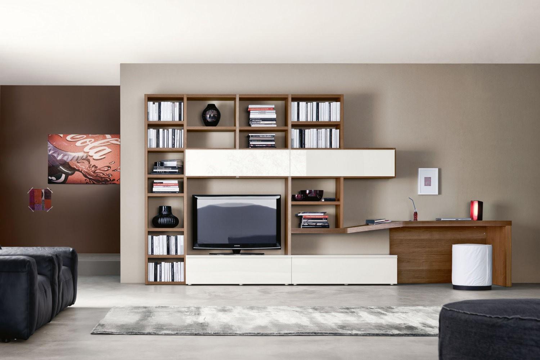 Стильная и функциональная модульная мебель в современном интерьере гостиной