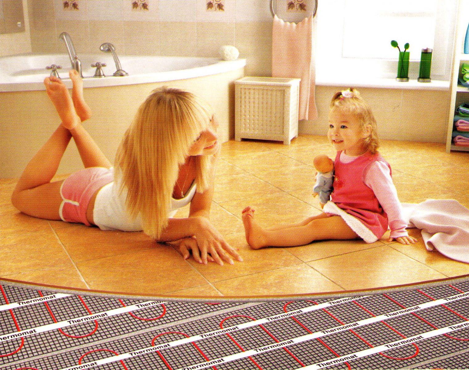 Напольное покрытие на теплый пол