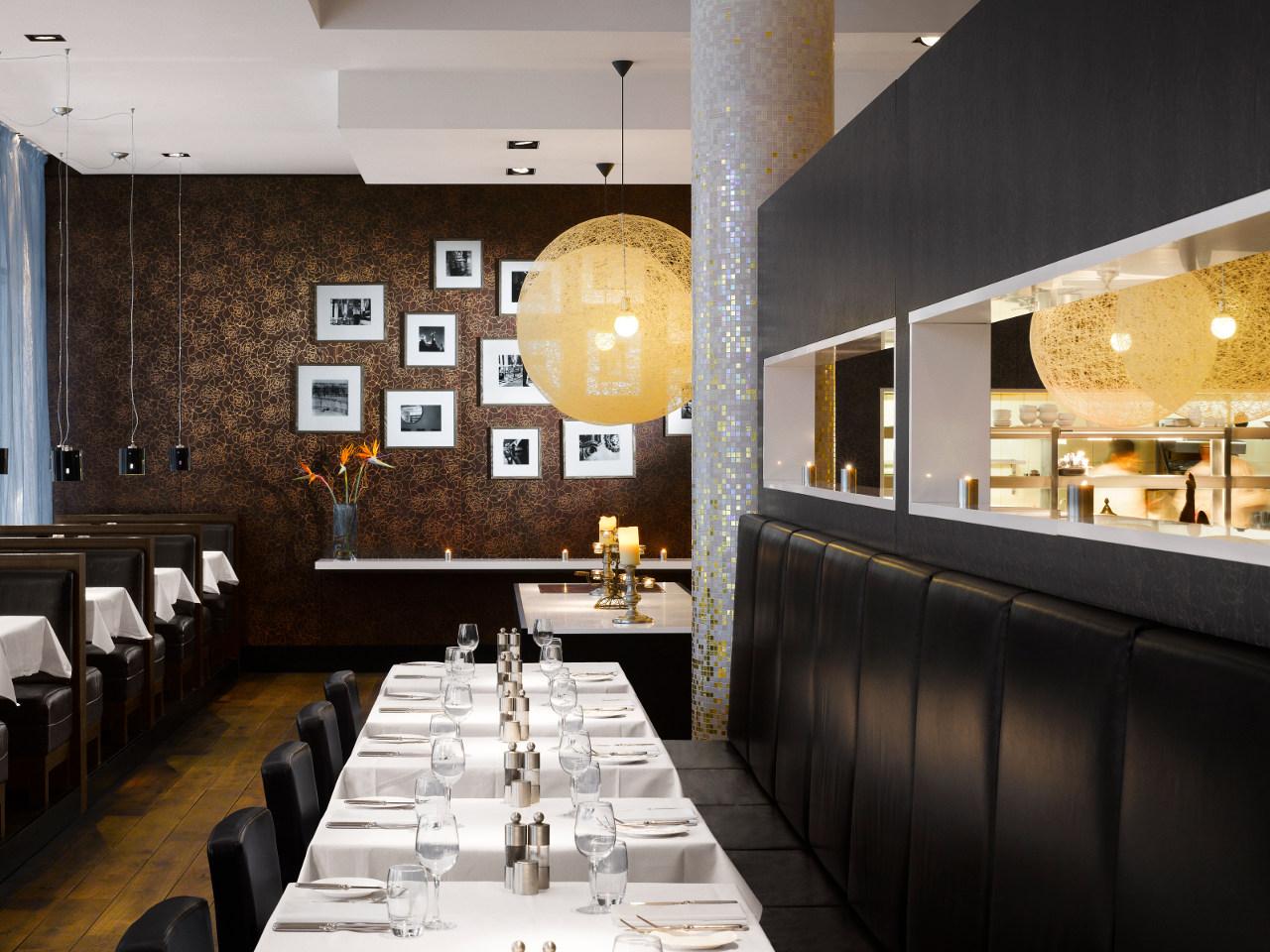 Элементы классического стиля в ресторане