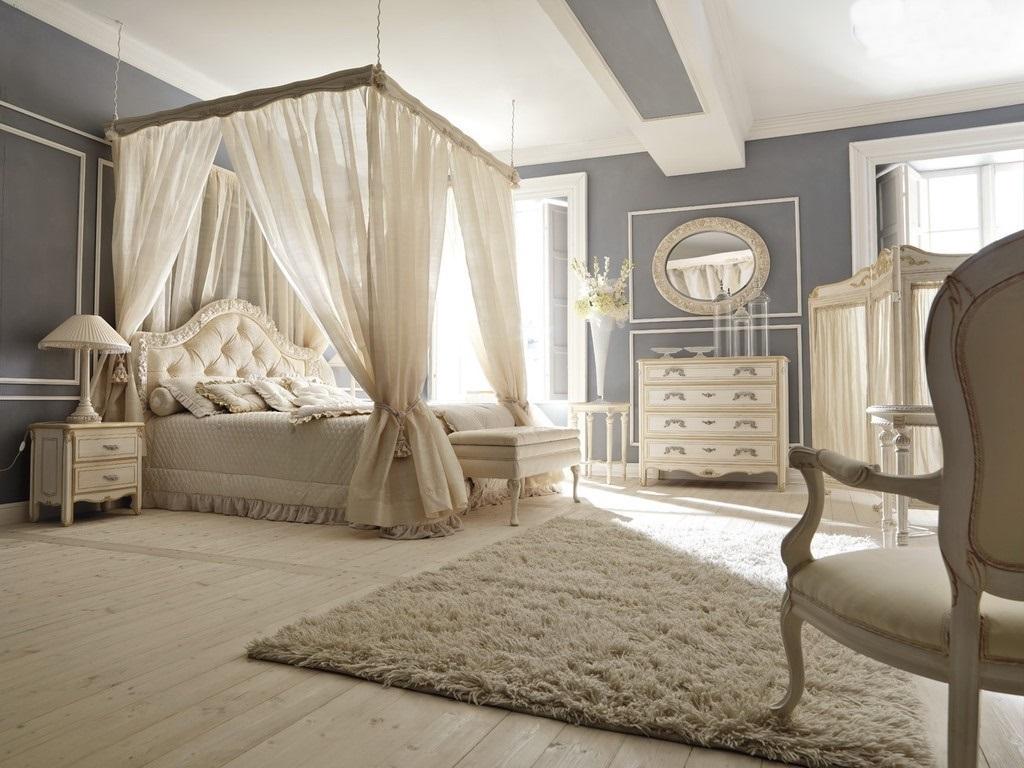 Спальня в стиле романтизм