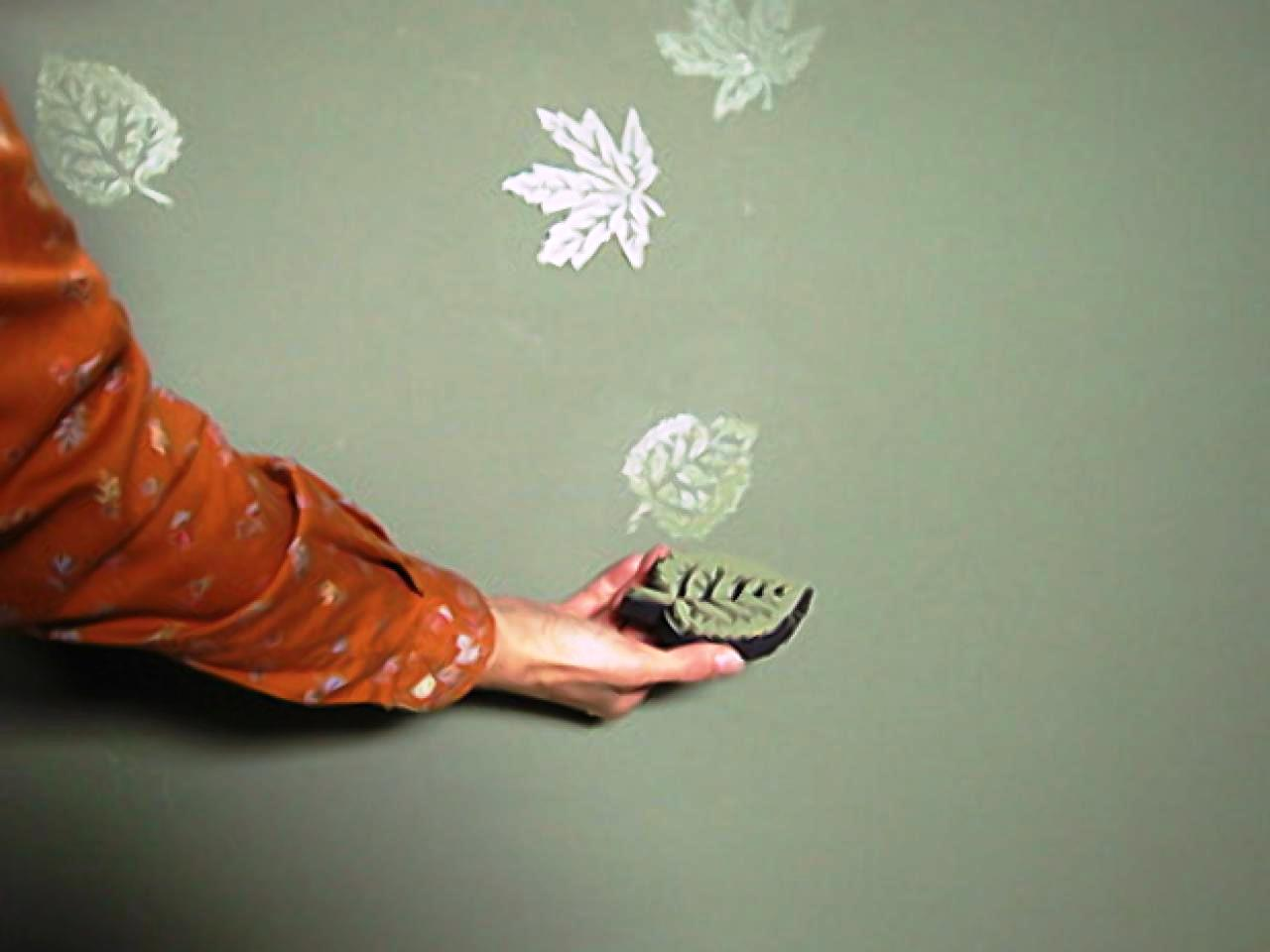 Печатка для создания рисунка на стене
