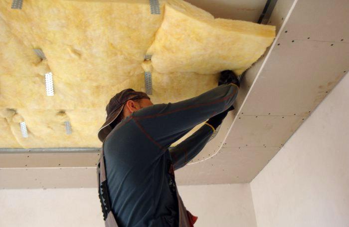 Потолок звукоизоляция своими руками фото