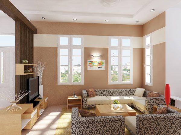 интерьер зала в доме фото
