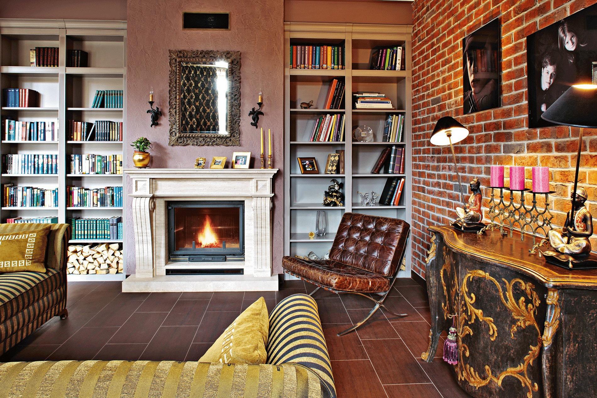 Выбор мебели для интерьера в стиле фьюжн