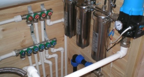 Системы водоснабжения фото
