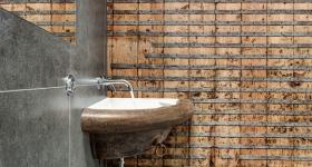 стена в ванной комнате фото