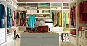 Обустройство гардеробной фото