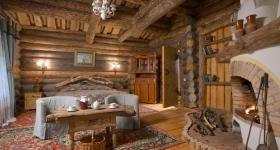 Интерьер дачного домика в Москве фото