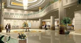 Современный гостиничный холл