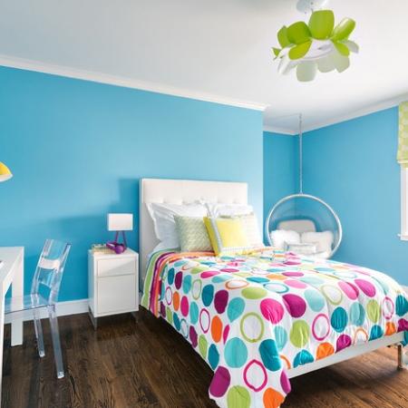 покрасить стены в детской
