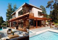 роскошные дома из клееного бруса фото