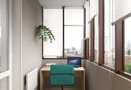 дизайн балкона 10 кв м фото