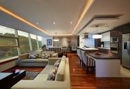 фото кухни с большим залом